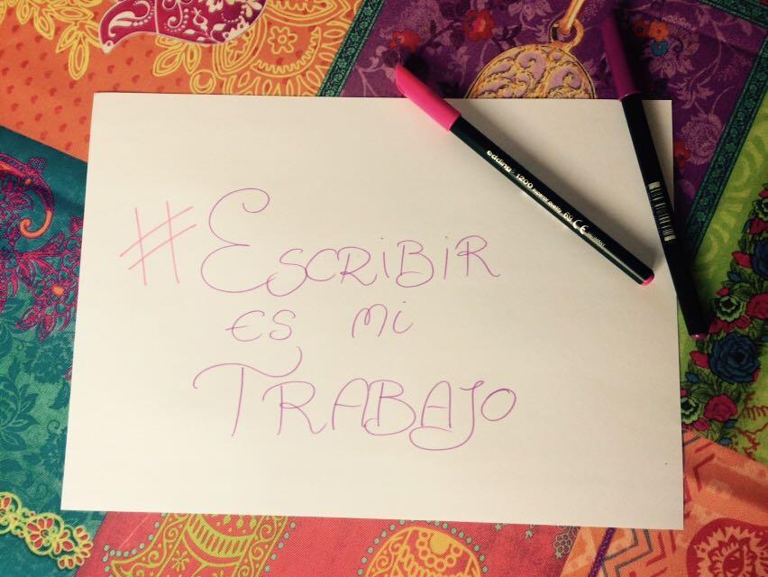 #EscribirEsMiTrabajo